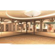 Дизайн интерьера танцевального зала фото