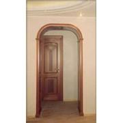 Арка деревянная фото