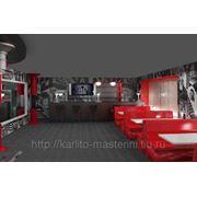 Дизайн кафе, клубов, ресторанов фото