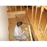 Ремонт деревянных лестниц фото