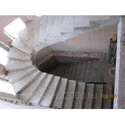 Строительство индивидуальных монолитных лестниц из бетона