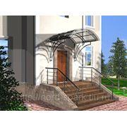 Изготовление крылец и наружных лестниц из камня и керамогранита фото