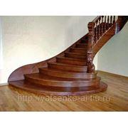 Деревянные лестницы: проектирование, изготовление, монтаж. фото