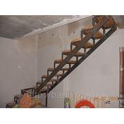 Металлокаркасы лестниц фото