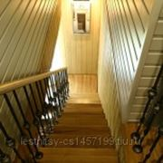 Прямая лестница фото