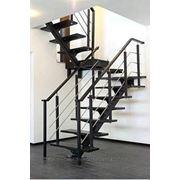 Лестницы поворотные фото