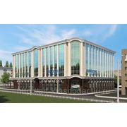 Дизайн экстерьера (фасада) административного здания фото