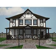 Дизайн проект фасада (экстерьера). фото