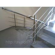 Изготовление и монтаж ограждений из нержавеющей стали AISI 304 фото