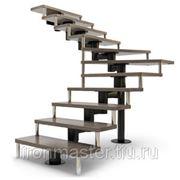 Лестницы по индивидуальным проектам. фото