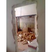 Демонтаж стен перегородок в квартире фото