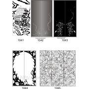Пескоструйный рисунок на зеркале, стекле или ЛДСП 1041-1069 фото