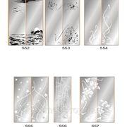 Пескоструйный рисунок на зеркале, стекле или ЛДСП 552-606 фото