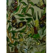 Декоративные витражи (картины)ручной работы,роспись фото
