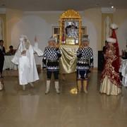 Театрализованная постановка национальных обрядов на Сүндет той фото