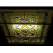 Витражные потолки фото
