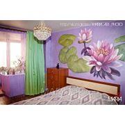 Роспись стен в интерьере. фото
