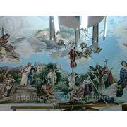 Художественная роспись стен, потолков фото