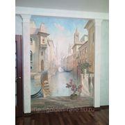 Художественная роспись, а секко, aффреско, мозаика, декоративное панно фото