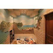 Роспись стен, потолков фото