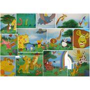Роспись стен детской фото