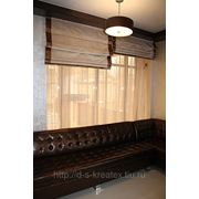 Римская штора фото