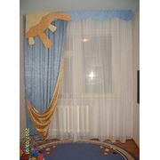 Шторы для детской комнаты фото