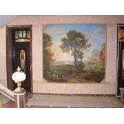 Художественная роспись в интерьере фото