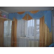 Штора и покрывало для спальни фото