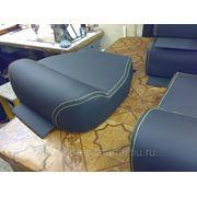 Шьем кожаные подушки в СПб из медицинского кожзаменителя для медицинского оборудования фото