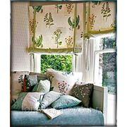 Римские и рулонные шторы на заказ. Пошив. фото