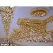 Позолота сусальным золотом, серебрение фото