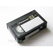 Оцифровка видеокассет формата VHS-C фото
