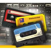 Оцифровка Аудио кассет фото