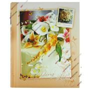 Свадебный фотоальбом, комбинированный 10х15, 15х21, 20х30, JUST MARRIED, персиковый GF 1772 фото