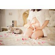 Беременная фотосессия дома фото