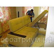 Химчистка углового дивана! фото