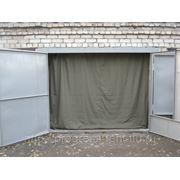 Гаражные шторы(брезент) фото