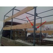 Изготовление каркаса на автомобиль газель 3 м высота 2.2 фото