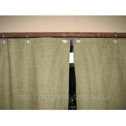 Производственные шторы (брезент) фото