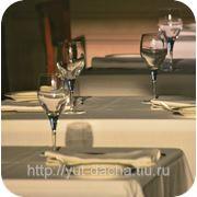 Столовое белье для ресторанов и кафе фото