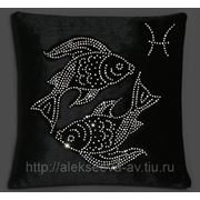 "Подушка знак задика ""Рыбы"" фото"