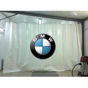 Автомоечная штора с печатью фото