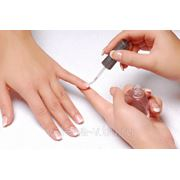 Коррекция нарощенных ногтей фото