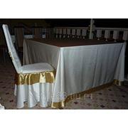 Чехлы на столы, для торжеств фото