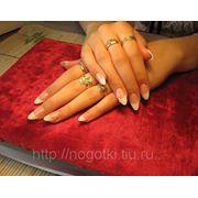 Наращивание ногтей в Омске фото