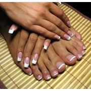 Наращивание, коррекция, покрытие ши-лаками ногтей фото