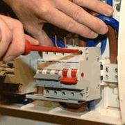Электромонтаж и модернизация промышленного освещения; фото