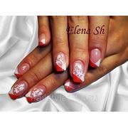Наращивание биогелем http://vk.com/nail_styles фото