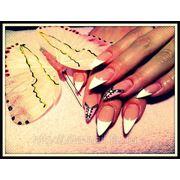 Гелевое моделирование и дизайн ногтей фото